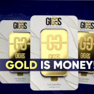 Goud is geld